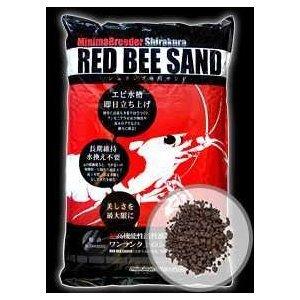 ミニマブリーダーシラクラ RED BEE SAND(レッドビーサンド) 4kg