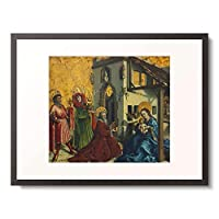 Witz, Konrad 「Adoration of the Magi.」 額装アート作品