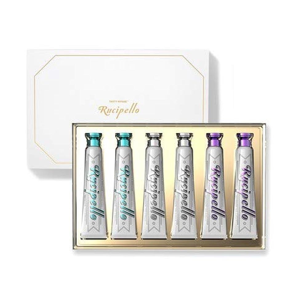 みすぼらしいチャッププレミアム[ルチペッロ] Rucipello 歯磨き6種のプレゼントセット 100g x 6本 (海外直送品)