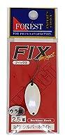 フォレスト(FOREST) スプーン フィックス インパクト 2.5g シルバーホワイト #3 ルアー