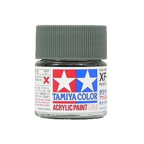 タミヤカラー アクリルミニ つや消し XF22 RLMグレイ 10ml 81722