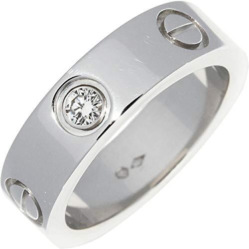 [カルティエ]Cartier Pt950 ダイヤ1P(0.07ct) ラブリング 指輪 #52(11.5号) B40467 中古