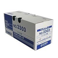 カモ井 シーリング用紙粘着テープ 18ミリ×18M 70巻入