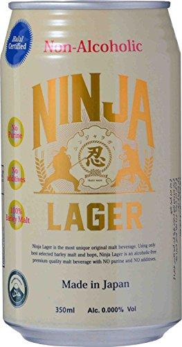 日本ビール 忍者ラガー ノンアルコール [ 350ml×24本 ]