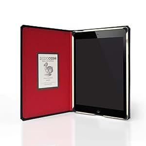 DODOcase モレスキン風  iPad mini 用  ケース カメラホール 「Red レッド」1年保証 IM111201O