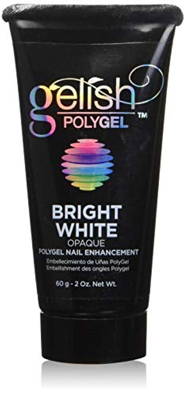 日没感度レースHarmony Gelish Gel Polish - PolyGel - Bright White - 60g / 2oz