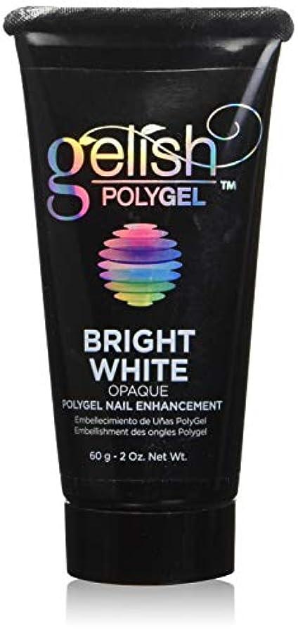達成ケージ獣Harmony Gelish Gel Polish - PolyGel - Bright White - 60g / 2oz