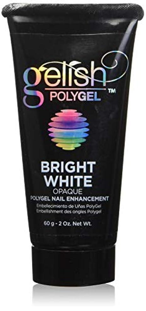 マカダムタービンうめきHarmony Gelish Gel Polish - PolyGel - Bright White - 60g / 2oz