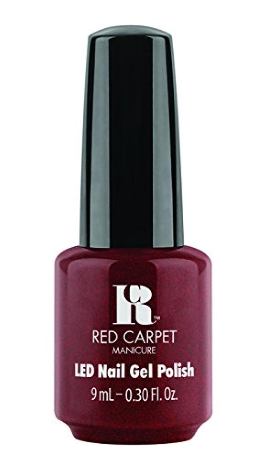 医学代わりにを立てるワームRed Carpet Manicure - LED Nail Gel Polish - Haute Couture - 0.3oz / 9ml