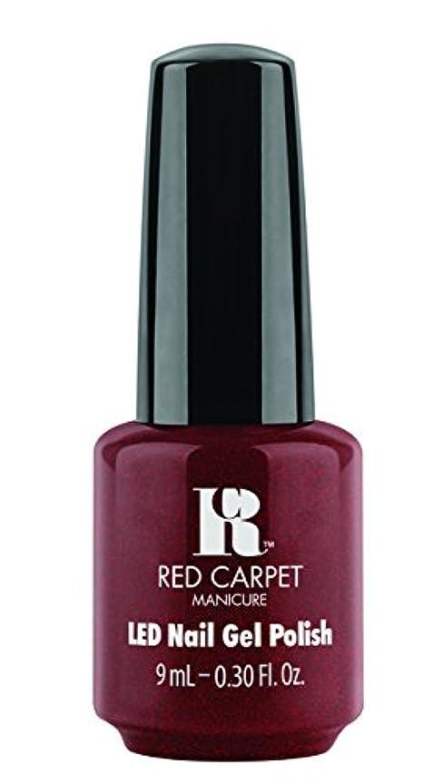 心理学に対して精緻化Red Carpet Manicure - LED Nail Gel Polish - Haute Couture - 0.3oz / 9ml