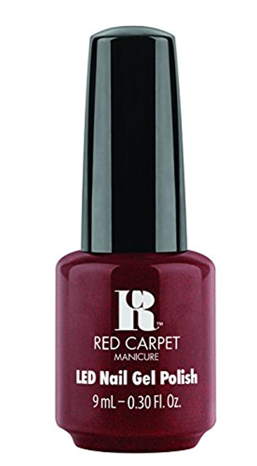 課す修復ぴかぴかRed Carpet Manicure - LED Nail Gel Polish - Haute Couture - 0.3oz / 9ml