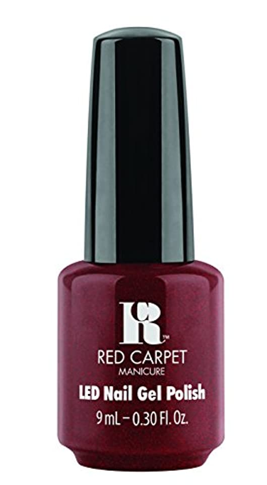 位置するバスト血統Red Carpet Manicure - LED Nail Gel Polish - Haute Couture - 0.3oz / 9ml