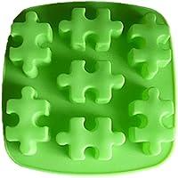 シリコンモールド型 パズル ぱずる レジン キャンドル 粘土