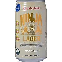 日本ビール 忍者ラガー ノンアルコール 缶 350ml×24本