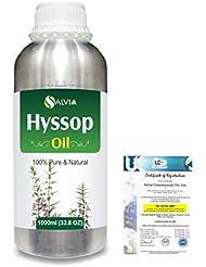 Hyssop (Hyssopus officinalis) 100% Natural Pure Essential Oil 1000ml/33.8fl.oz.