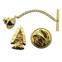 Arrowheadタイタック~ 24Kゴールド~タイタックまたはピン~サラのTreats & Treasures