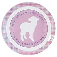 Enesco Gift Sonlight from Gregg Gift for Enesco Lamb Designed Plate, 8-Inch by Enesco Gift [並行輸入品]