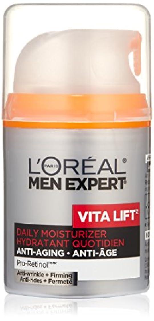 こする軽蔑鉱夫Men's Expert L'Oreal Paris Vita Lift Anti-Wrinkle & Firming Moisturizer, 1.6 Ounces