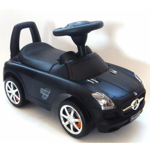 乗用玩具 メルセデスベンツ(ブラック) Mercedes-Benz SLS AMG RIDING TOY CAR
