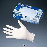 クアラテック手袋 (天然ゴム製)(100枚入) L 全長24cm