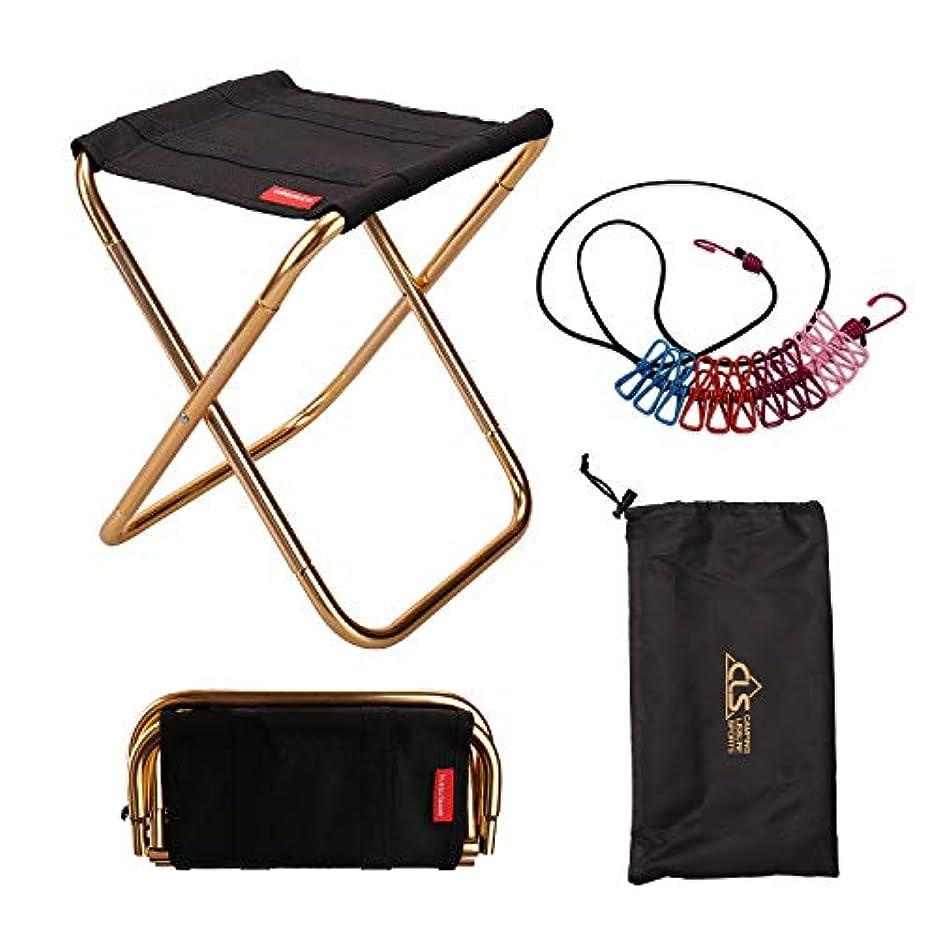 ささやきやる柱RONRI アウトドアチェア 折りたたみ椅子 コンパクト キャンプ 椅子 持ち運び アルミ合金 超軽量 収納袋&洗濯ロープ付き