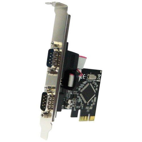 AREA E2SL PCIExpress x1接続 RS232C増設ボード 2ポート ロープロファイル対応 SD-PE9901-2SL
