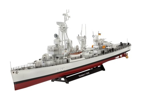 ドイツレベル 1/144 西ドイツ海軍 Z級駆逐艦 Z1/Z5 05097