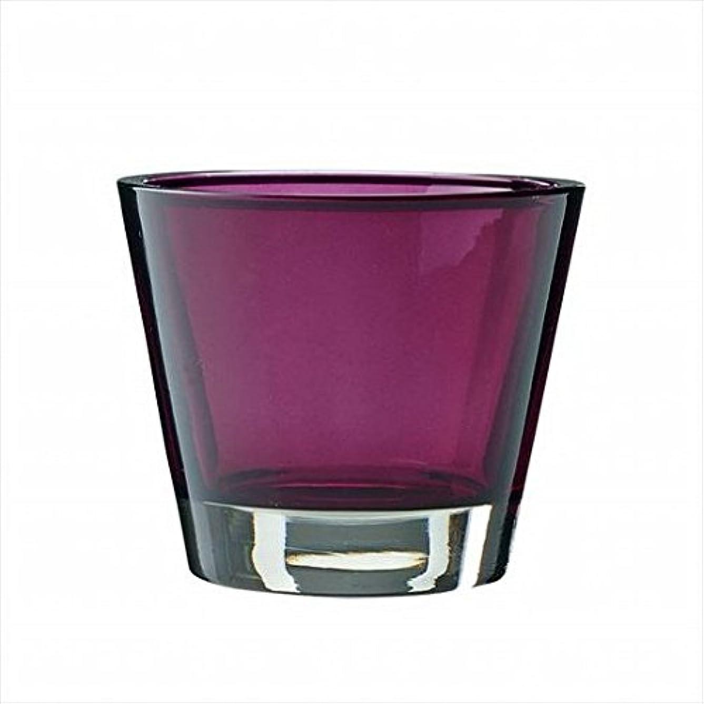 同行ビーム落胆したkameyama candle(カメヤマキャンドル) カラリス 「 プラム 」 キャンドル 82x82x70mm (J2540000PL)