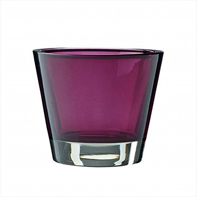 ミル本部特性kameyama candle(カメヤマキャンドル) カラリス 「 プラム 」 キャンドル 82x82x70mm (J2540000PL)