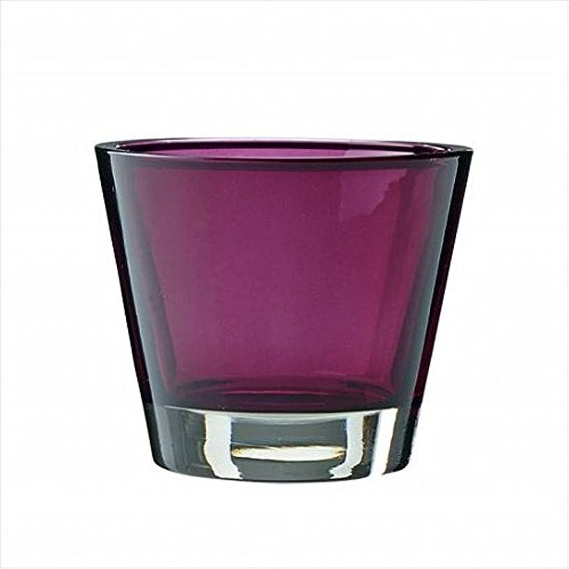 ミニチュアヤギすなわちkameyama candle(カメヤマキャンドル) カラリス 「 プラム 」 キャンドル 82x82x70mm (J2540000PL)