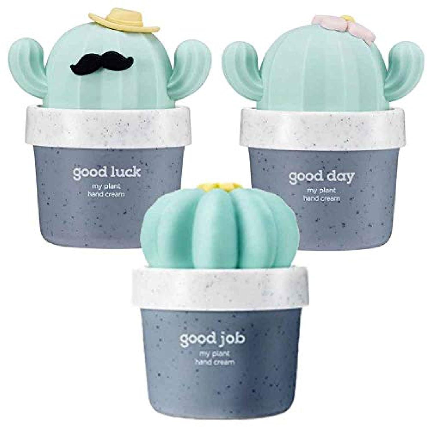 異なる予定むしゃむしゃ[THE FACE SHOP] ザフェイスショップ ミニサボテン 鉢植えハンドクリーム 3個セット