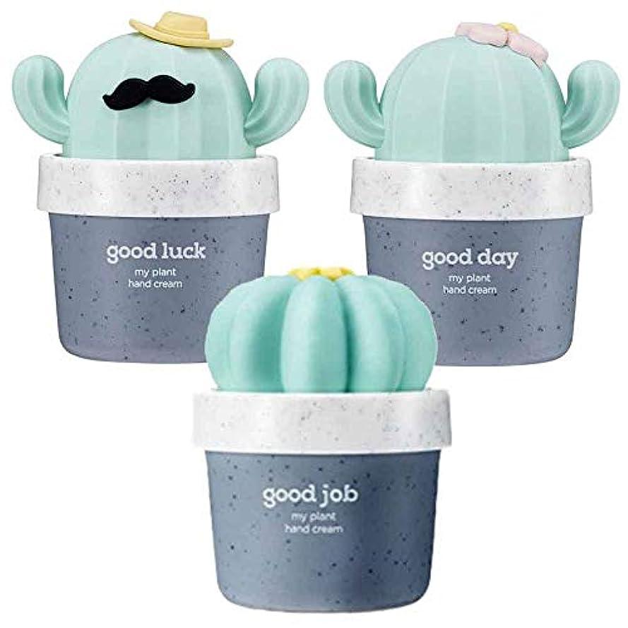 挨拶する広告主可愛い[THE FACE SHOP] ザフェイスショップ ミニサボテン 鉢植えハンドクリーム 3個セット