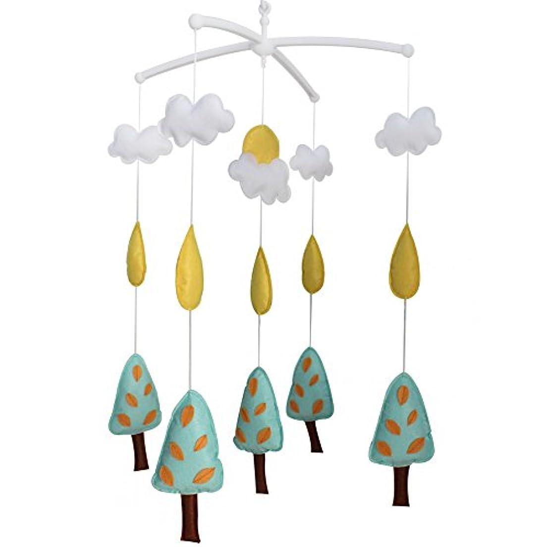 設計ラインナップインドベルミュージカル赤ちゃんのおもちゃ、G01をぶら下げかわいいベビーベッドの装飾