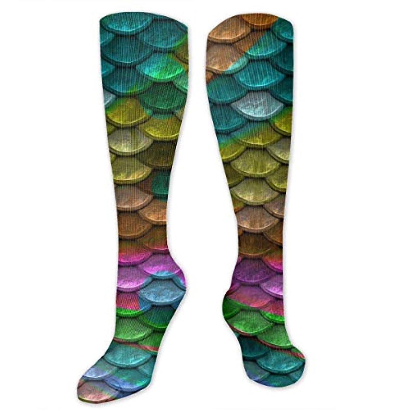 建物ファンオンス女性の男性のためのQrriyマジックマーメイド尾圧縮靴下-スポーツスポーツクロスフィットフライト旅行妊娠看護師(20-30 mmhg)を実行するためのフィット