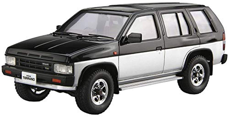 青島文化教材社 1/24 ザ?モデルカーシリーズ No.106 ニッサン D21 テラノ V6-3000 R3M 1991 プラモデル