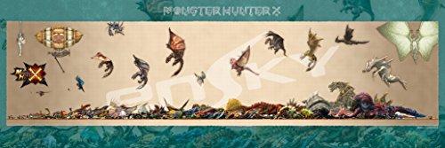 950ピース ジグソーパズル MONSTER HUNTER X モンスターハンターX モンスターサイズ早見表(34x102cm)