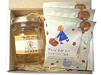 国産百花蜂蜜 & はちみつりんご紅茶 の ギフトセット