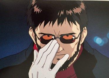 新世紀エヴァンゲリオン ポストカード【碇ゲンドウ】