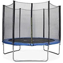 ALICE'S GARDEN - Garden Trampoline - Mars 10ft Trampoline with Safety net - Blue - PRO Quality   EU Standards