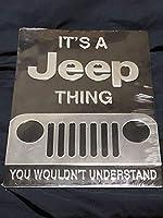jeep ジープ ブリキ看板 2018モデル 35×25センチ