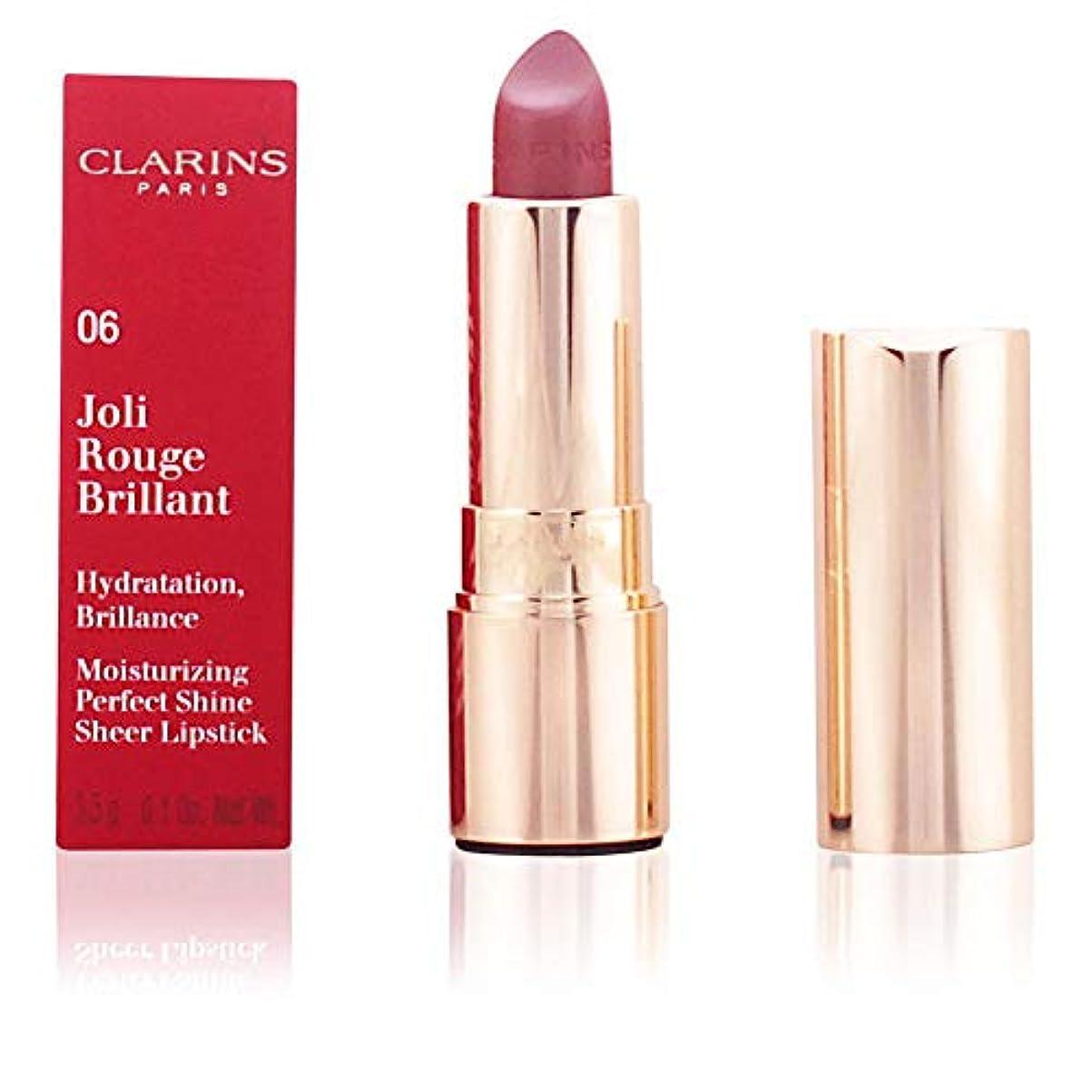 デイジースチュワード思いやりのあるクラランス Joli Rouge Brillant (Moisturizing Perfect Shine Sheer Lipstick) - # 25 Rose Blossom 3.5g/0.1oz
