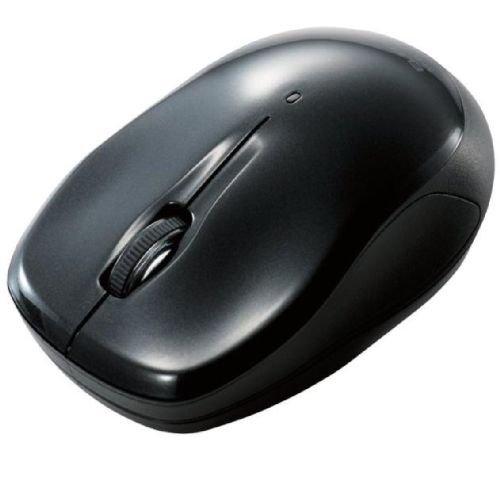 ELECOM Bluetoothマウス 3ボタン 光学式 ブラック M-BT7BRBK