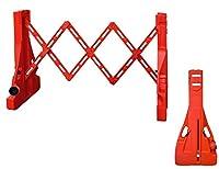 プラスチック 交通 拡張可能 ゲートとフェンスバリア 1 Piece オレンジ TC-XT-EGB