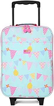 Penny Scallan Wheelie Bag Pineapple Bunting Trolley Suitcase (2 Wheels) – Pineapple Bunting