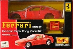 Maisto フェラーリ 456GT ダイキャストモデルキット Ferrari 456GT