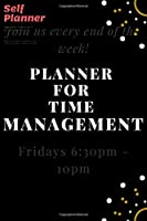 """Self Planner Notebook: 120 days Life Planner for Time Management, Improving Productivity, Scheduling and Achieving Goals — 6""""x9"""""""