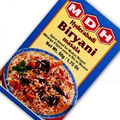 MDH ハイデラバディ ビリヤニマサラ 50g 5箱 Hyderabadi Biryani masala スパイス ハーブ 香辛料 調味料 ミックススパイス 業務用