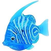 Dingji水泳ロボット魚でアクティブ水Magical電子子供おもちゃ 7.5*2*4.5cm ブルー 663648047853