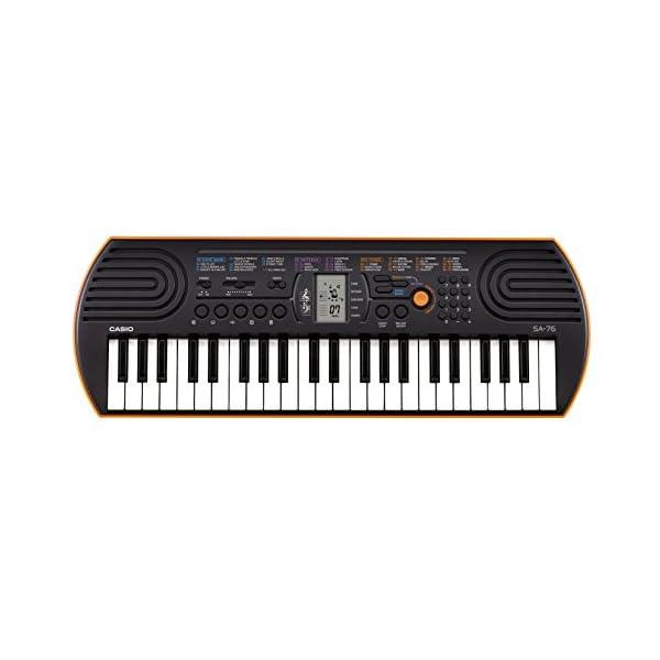 カシオ 電子ミニキーボード 44ミニ鍵盤 SA-...の商品画像