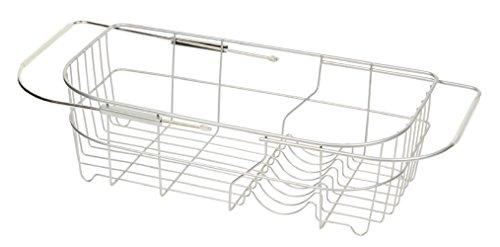 パール金属 食器 水切り かご シンク スライド式 シンプル・ウェア